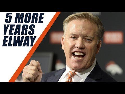John Elway & Denver Broncos Agree to 5 Year Deal