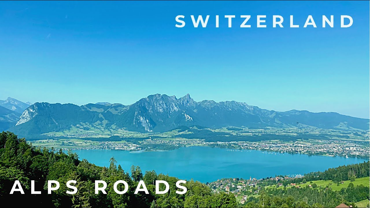 Sigriswill - Gunten - Interlaken | Driving in Switzerland 4K 🇨🇭