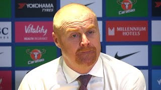 Chelsea 2-2 Burnley - Sean Dyche Full Post Match Press Conference - Premier League