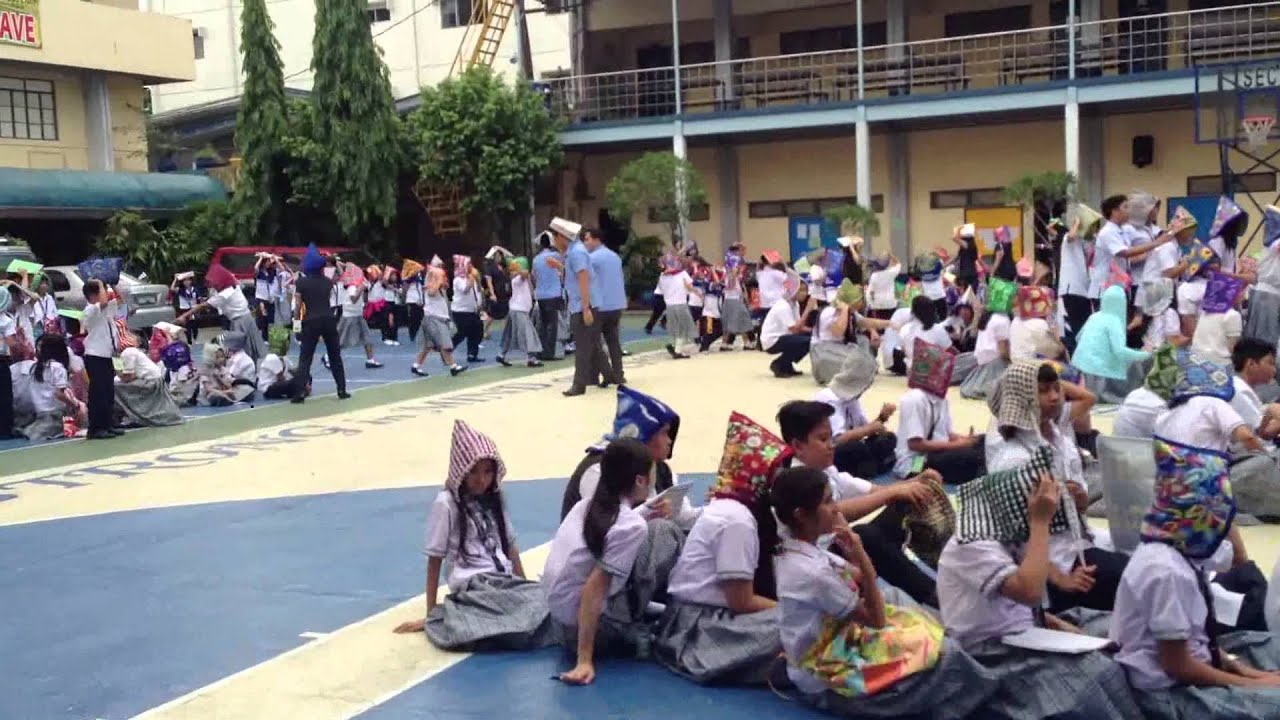 Southeastern college july 30 earthquake drill youtube - Southeastern college pasay swimming pool ...