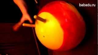 Мяч попрыгун Радуга John (Джон)(Подробнее о товаре Мяч-попрыгун Радуга здесь: http://babadu.ru/store/product/8205/?r1=youtube. Радуга John - это мячик для детей..., 2012-11-28T06:42:27.000Z)
