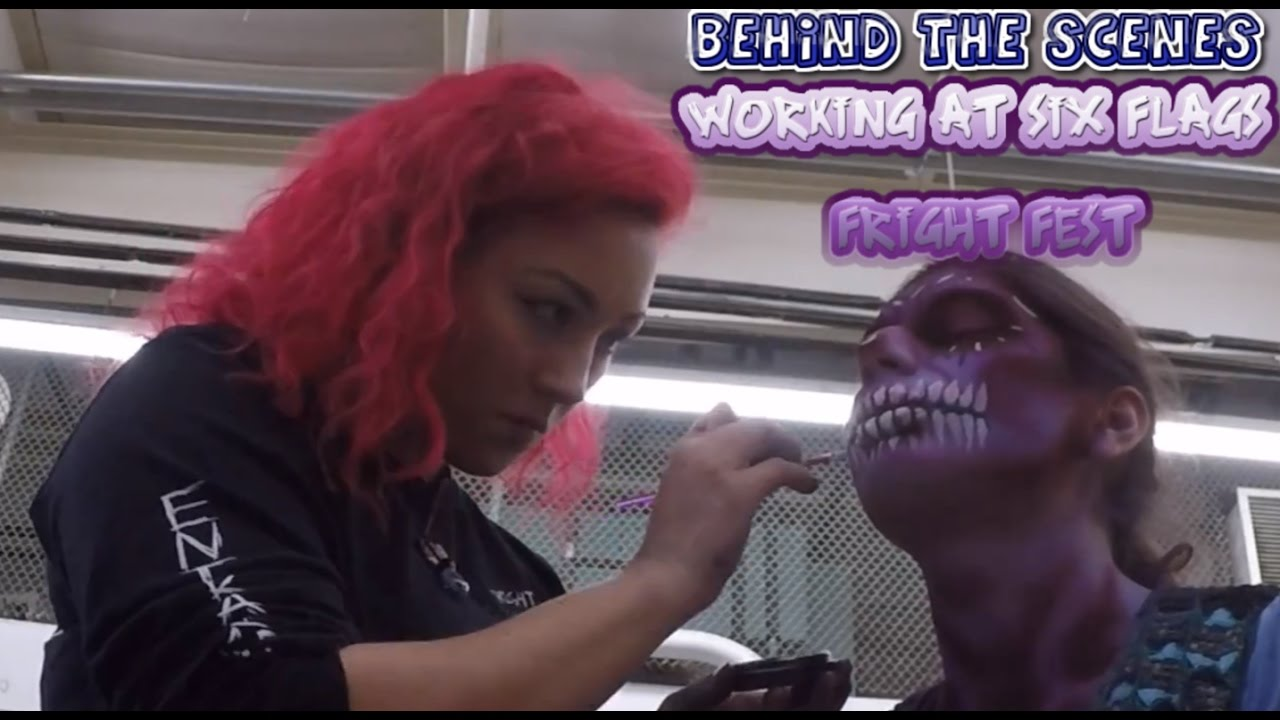 Behind The Scenes Working At Six Flags Fright Fest