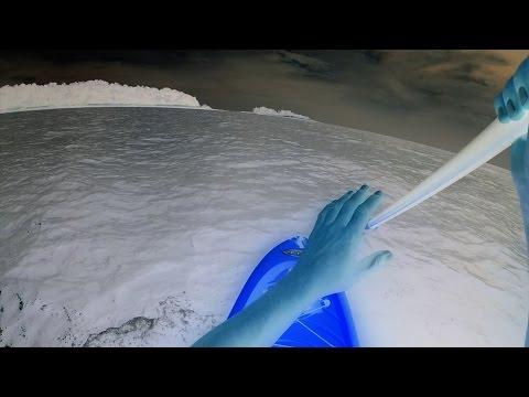 Rusty's Polar Paddle Boarding -- Liquid Logic Versa Board