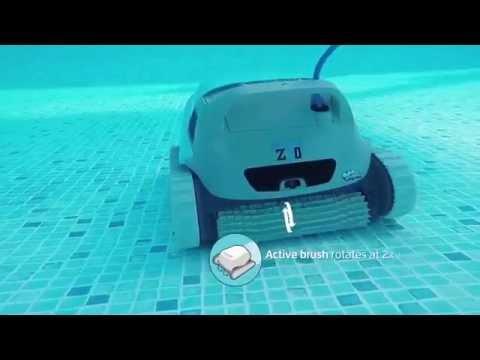robot limpiafondos dolphin z3i maytronics funnydog tv. Black Bedroom Furniture Sets. Home Design Ideas