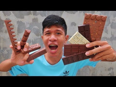 อดข้าว24ชั่วโมงกินช็อกโกแลต10แท่ง!!