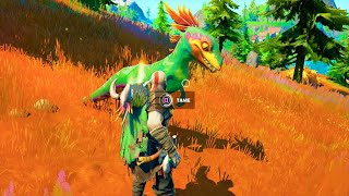How to Tame a RAPTOR..! Fortnite Battle Royale