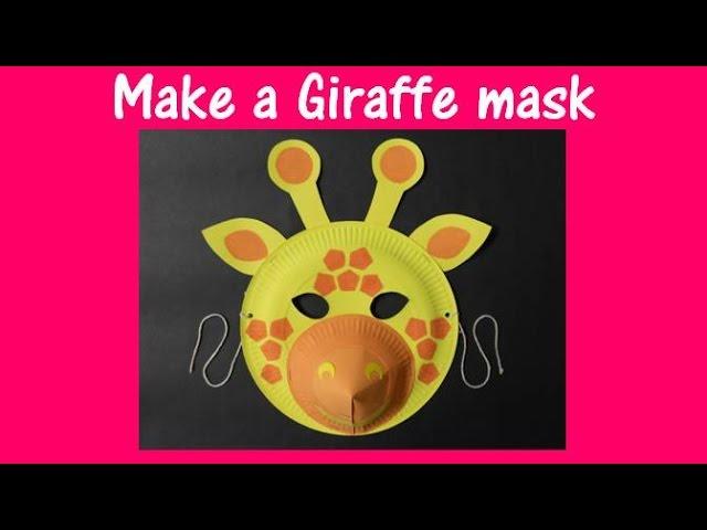 & DIY Simple Animal face mask for kids (Tutorial) - K4 Craft