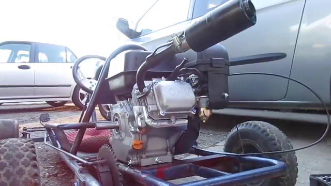 Go Kart Predator 212 Installation