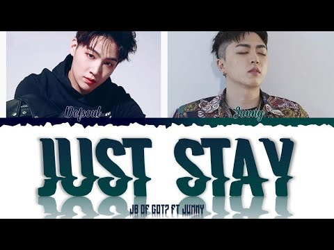 OFFSHORE - Just Stay Ft. Def. & JUNNY  (JB of GOT7) [Color Coded Lyrics] [ENG]