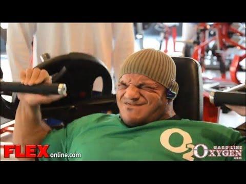 Big Ramy Shoulder Workout