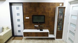 lcd tv furniture design for hall