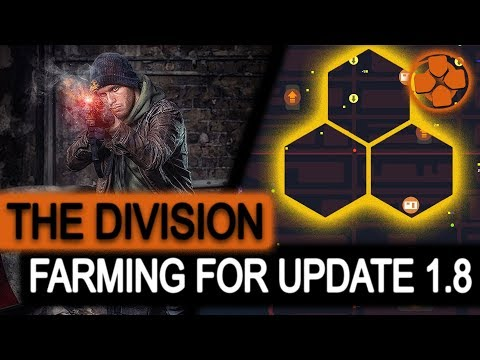 The Division 🔴 Division Tech Farming | Saving Up for Update 1.8 | PC Gameplay