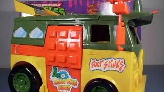 Vintage 1988 Teenage Mutant Ninja Turtle Party Wagon Review TMNT Turtle van
