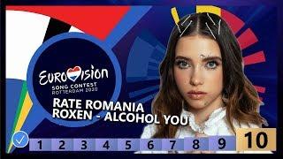 🇷🇴RATE ROMANIA - Roxen - Alcohol You - Romania Eurovision 2020