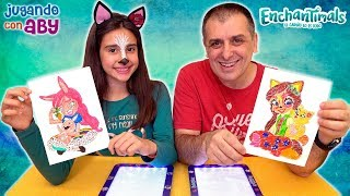 Скачать COLOREANDO CON 30 ROTULADORES Quieres Conocer A Aby Quedada Con Aby Y Enchantimals
