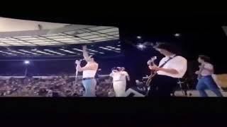 Bohemian Rhapsody Movie We Are the Champions Live Aid, Wembley Stadium, 1985