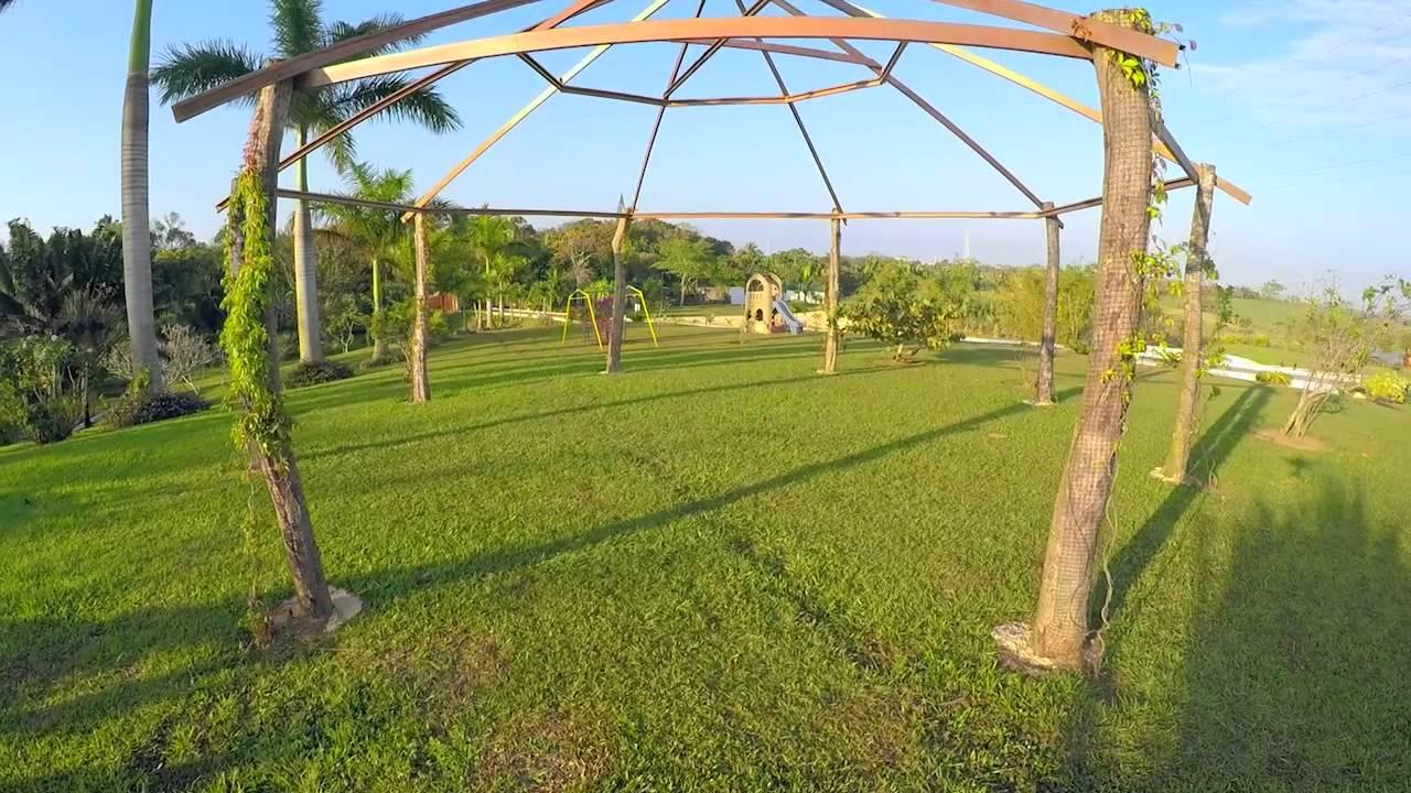 Jard n de eventos sociales villa palma real youtube for Athos palma jardin