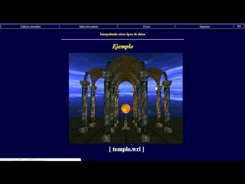 Interpoladores en VRML.© UPV