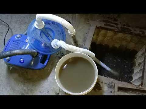 Приспособление для сбора воды пылесосом с любой поверхности.