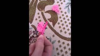 Урок плетения из резинок #3 медуза.
