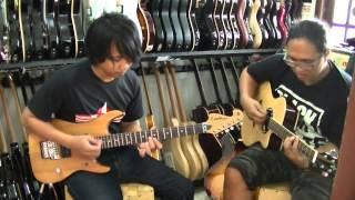 Ala Tipang-cover melodi gitar