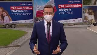 Konferencja prasowa premiera Mateusza Morawieckiego. - 27 kwietnia 2021 r.