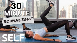 30-Minute Ab & Cardio at Home Workout With Burnout - No Equipment | SELF