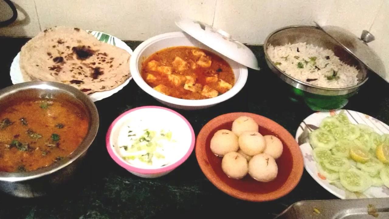 Special Indian Veg Lunch Menu Ideas
