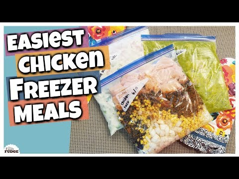 3 Easy & Delicious Chicken Freezer Meals For The Slow Cooker || Six Sisters' Stuff Collab