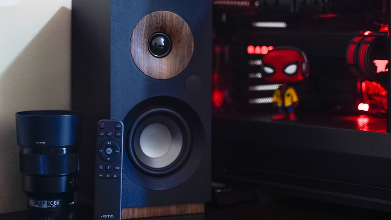 Inital Impressions Review And Un Boxing Jamo Studio Monitor S 801 Pm Speakers Youtube