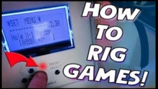 HOW TO RIG ARCADE GAMES!!!