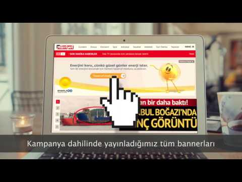 EnerjiSA Turkey's First Energy Saving Online Campaign