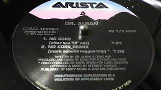 DR ALBAN- NO COKE  [AFTER USE 12'' MIX]