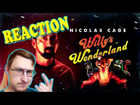 Willy's Wonderland - Official Trailer (2021) | RUSSIAN REACTION