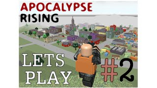 ROBLOX: Apocalypse Rising Let's Play #2 w/ Friends - WINTER -- Commentary HD -TRACTOR