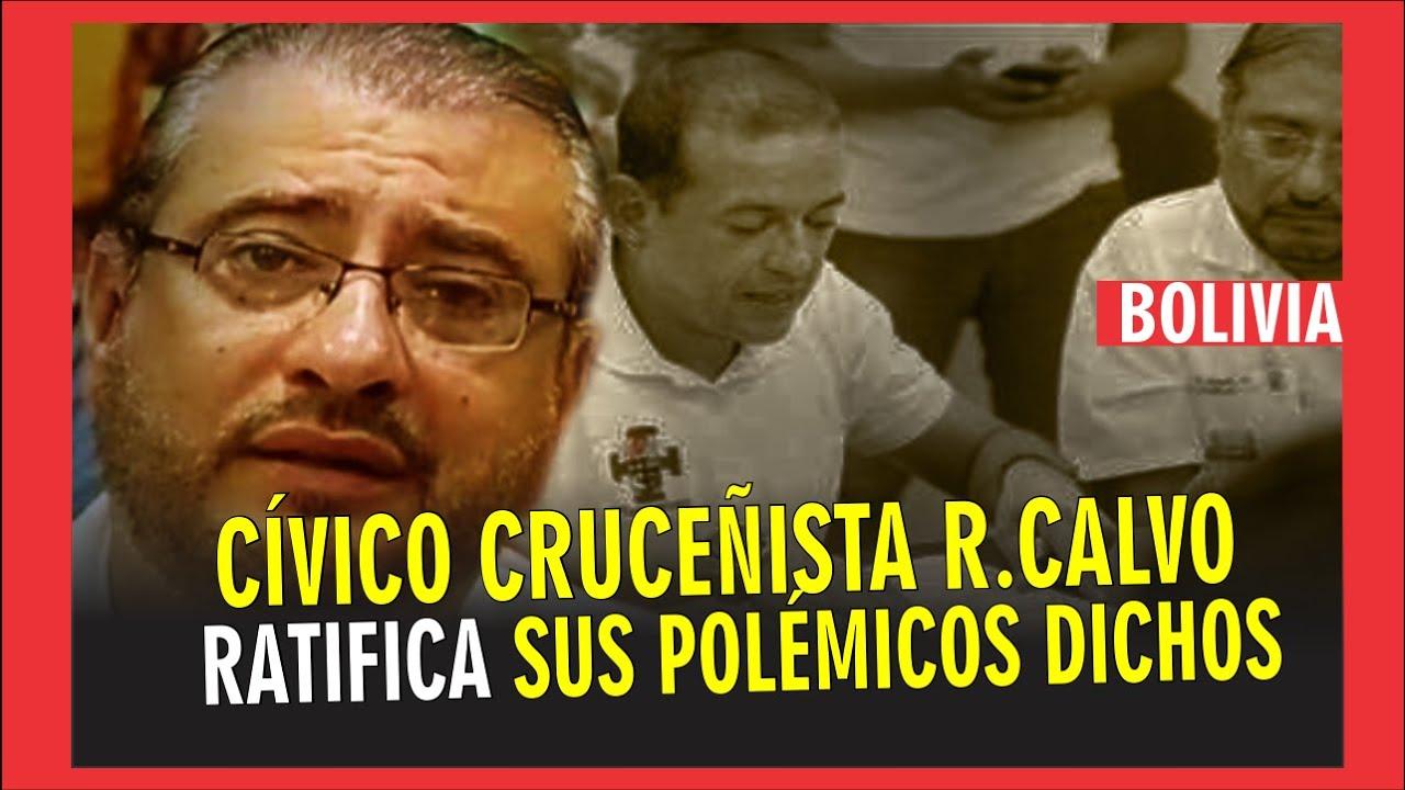 Cívico cruceñista Rómulo Clavo se ratifica en sus dichos y exige a Áñez mano dura con las B. Humanas