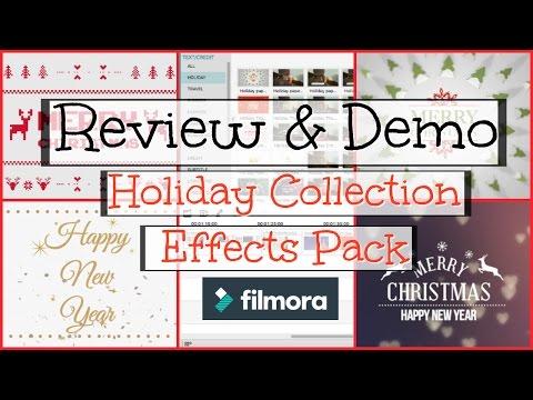 Filmora Editing Software - Holiday...