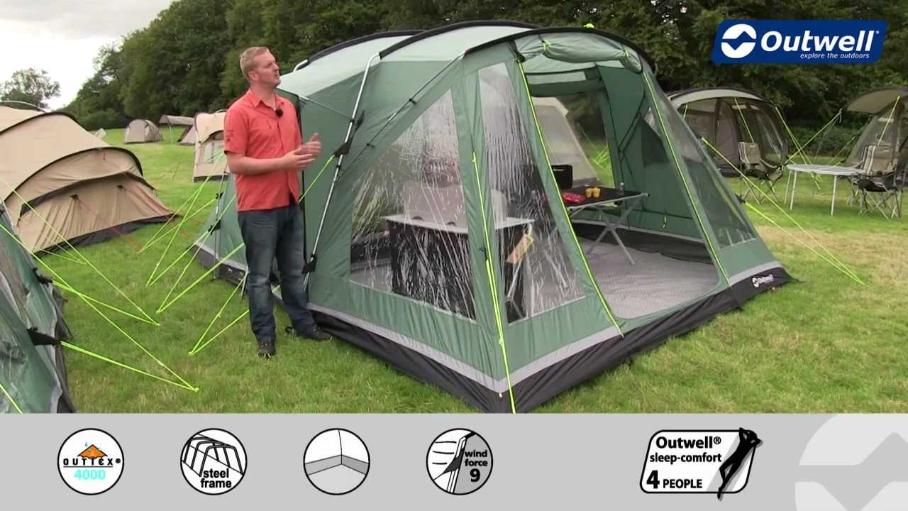 Outwell Tent Oakland XL (2013 model) & Outwell Tent Oakland XL (2013 model) - YouTube