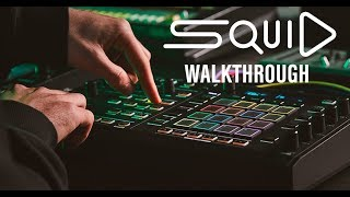 "TORAIZ ""SQUID"" Official Walkthrough  – The new multitrack sequencer"