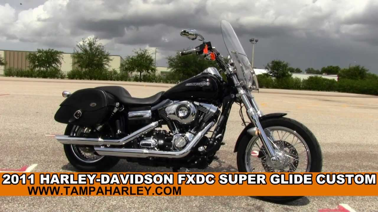 Fxdc Dyna Super Glide Custom 2011 Pictures: Used 2011 Harley-Davidson FXDC Dyna Super Glide Custom For