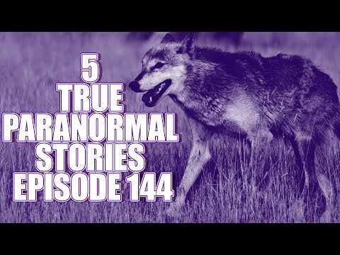 5 TRUE PARANORMAL STORIES EPISODE 144