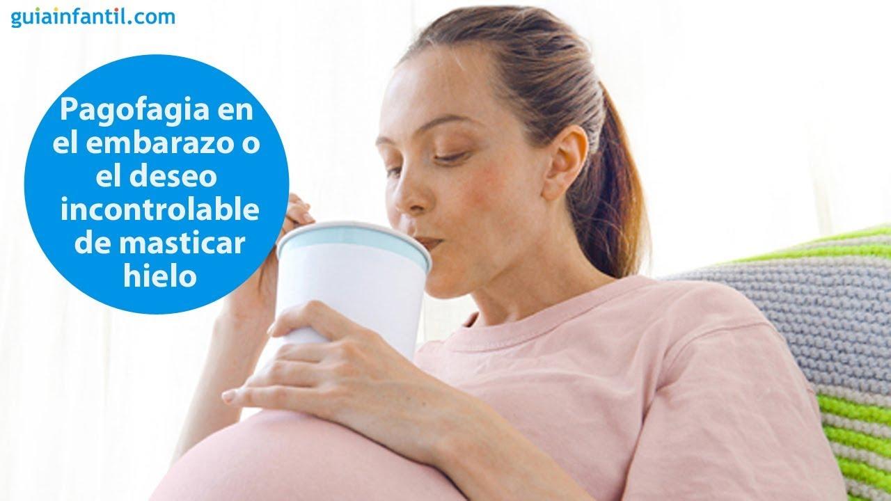 Pagofagia en el embarazo o el deseo incontrolable de comer hielo | #ConectaConTuHijo