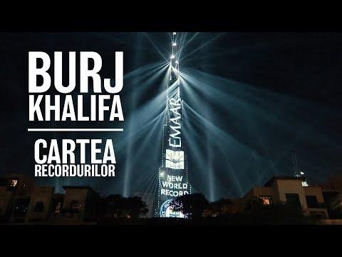 REVELION DE CARTEA RECORDURILOR IN DUBAI!