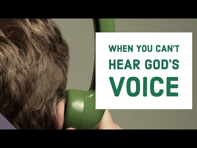 When You Can't Hear From God | Hearing in the Spirit Realm