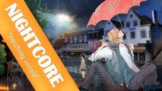 NIGHTCORE - Umbrella  (Swiching Vocals) (male version)