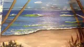 Art Party Seascape Speed Painting