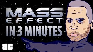 Mass Effect COMPLETE Storyline in 3 minutes! (Mass Effect Animation)