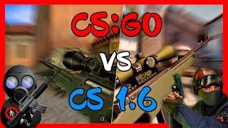 Weapons Comparison CS:GO vs CS 1.6
