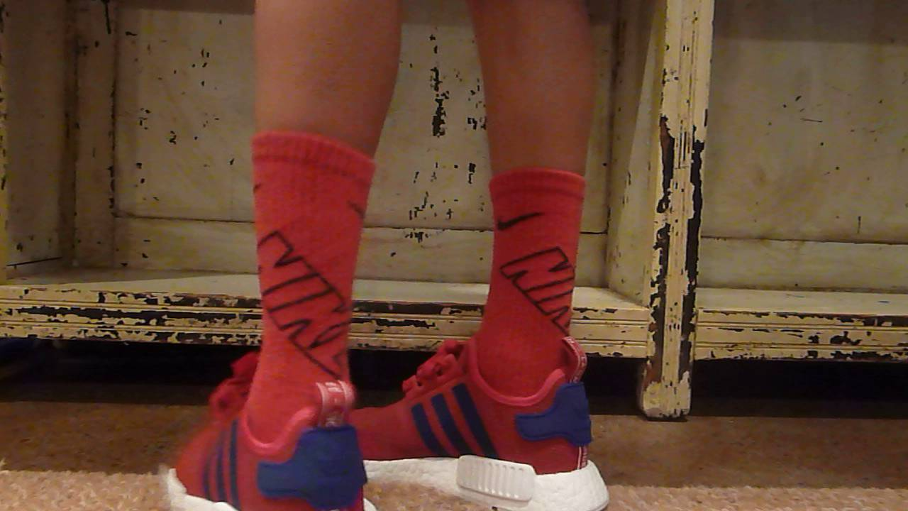 adidas nmd r1 kids red