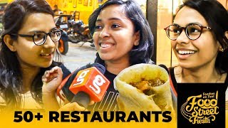 Bigger than OMR Food Street – 50+ Restaurants in Kovai Food Street Fiesta